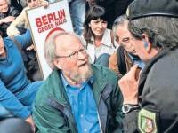 Protest gegen Neonazi-Aufmarsch in Berlin