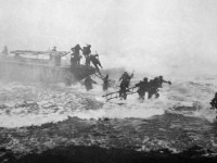Jack_Churchill_leading_training_charge_with_sword
