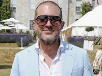 Sir Jonathan Ive at the Goodwood festival of speed in Chichester this year.
